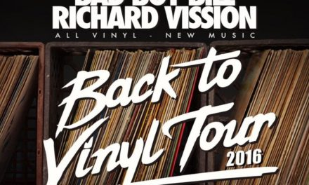 BACK TO VINYL TOUR 2016