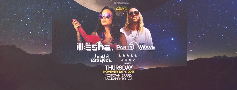 Stilldreamin: Illesha and Partywave – November 10th