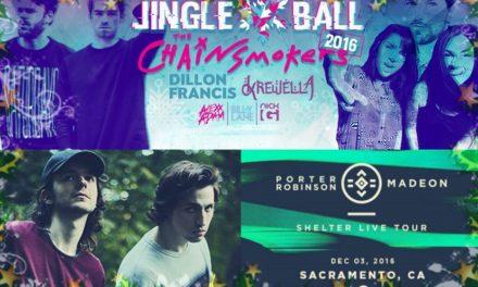 Jingle Balls & Shelter Live Tour – Midnite Events