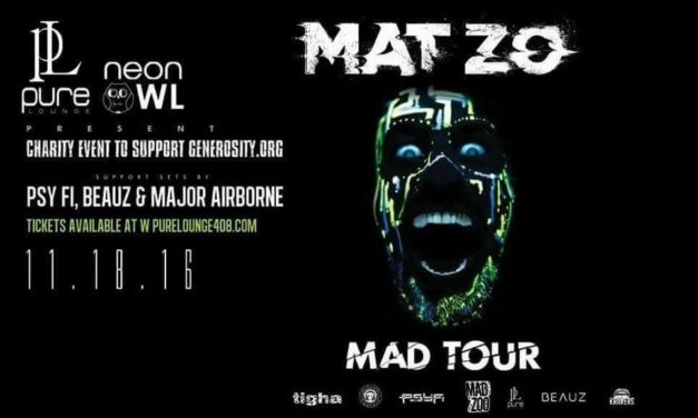 Mat-Zo's Mad Tour – Neon Owl Charity Show