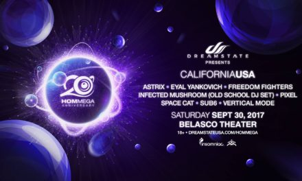 SoCal – Dreamstate presents Hommega 20 Year Anniversary