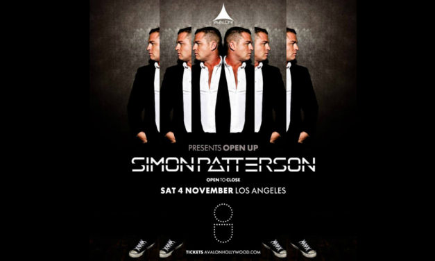 Avalon Presents Simon Patterson Open-to-Close