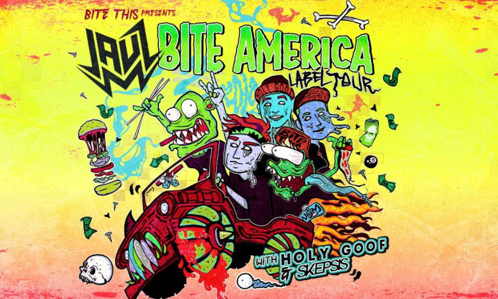 Jauz Bite America NorCal Stops – Bite This! | JustEDMs